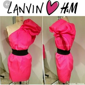 Beautiful rare Lanvin x H&M dress